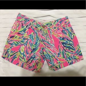 Lily Pulitzer shorts, size 00
